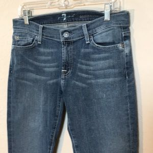 7 For All Mankind Jeans - 7 for all mankind Roxanne Jeans sz 29 Medium wash